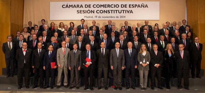 Sesion Constitutiva Camara de Comercio de España