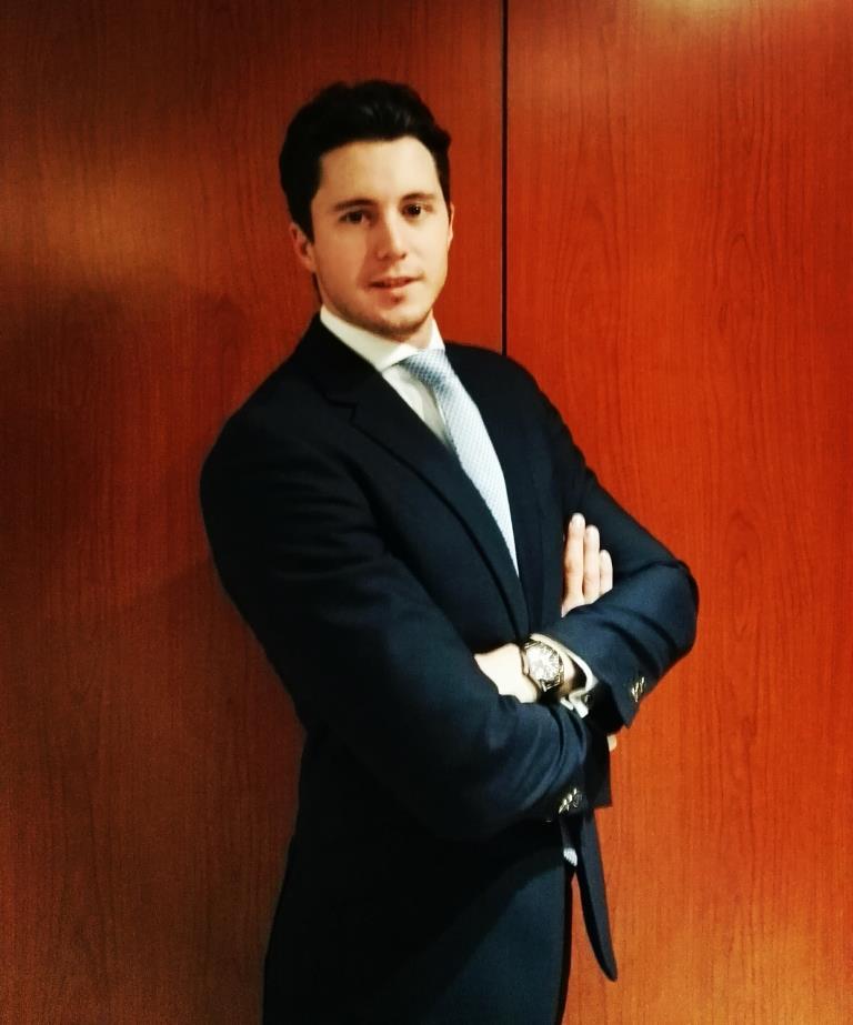 Borja Sanchez Bel, miembro del equipo ganador de la edición 2013-2014 de Global Management Challenge España.