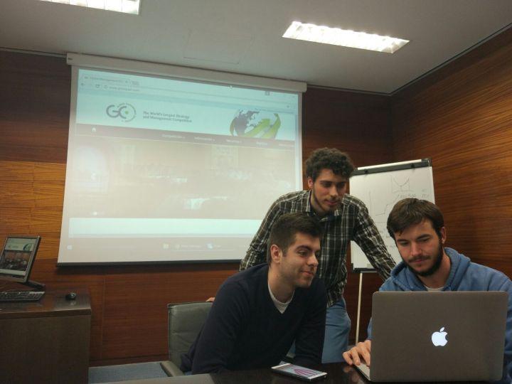 Equipo Q. DOHA - Paellers - Simulador Empresarial de GMC ESPA