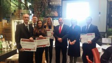 Representantes de Eslovaquia en la Final Internacional de Global Management Challenge